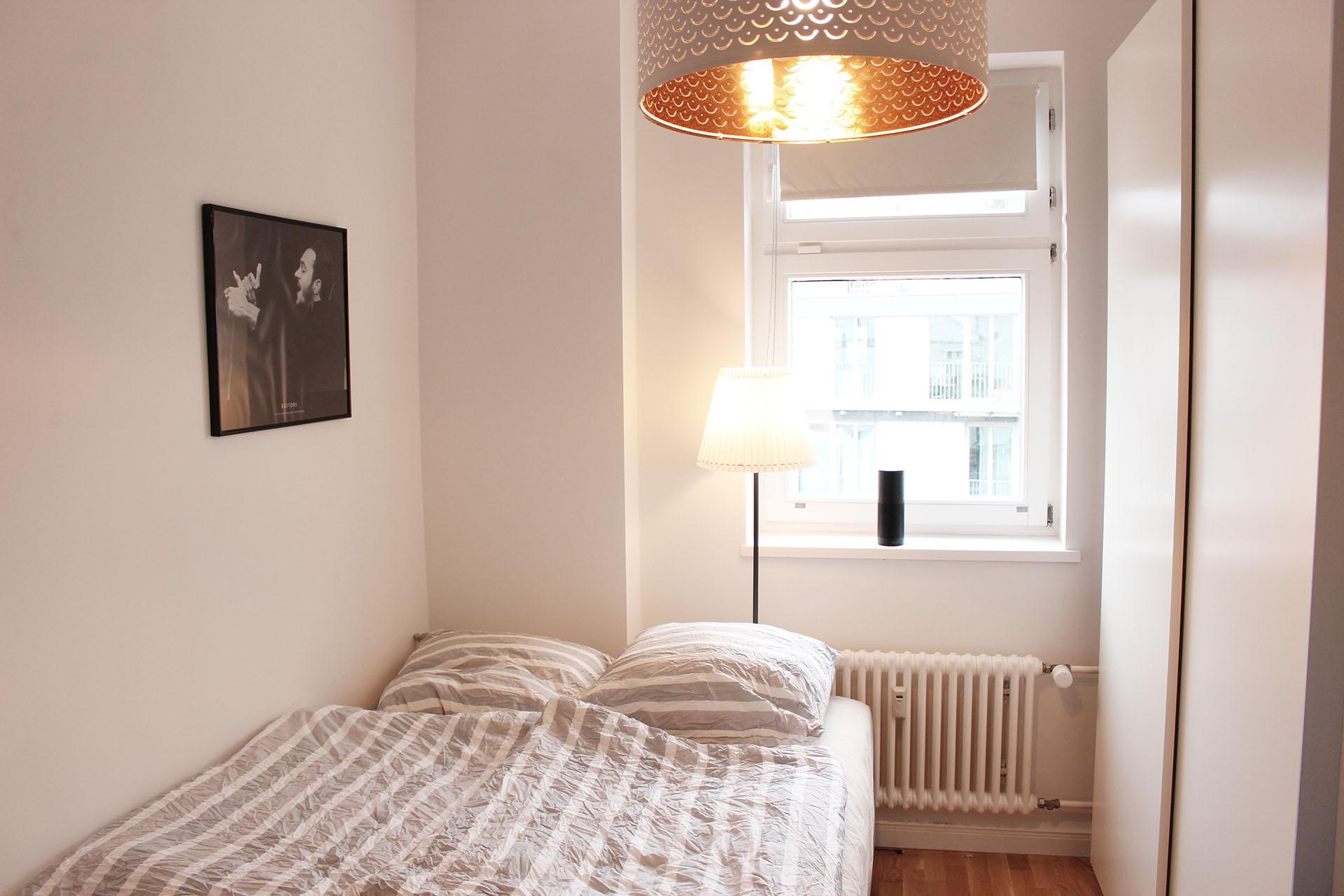 kleines Zimmer mit Alexa
