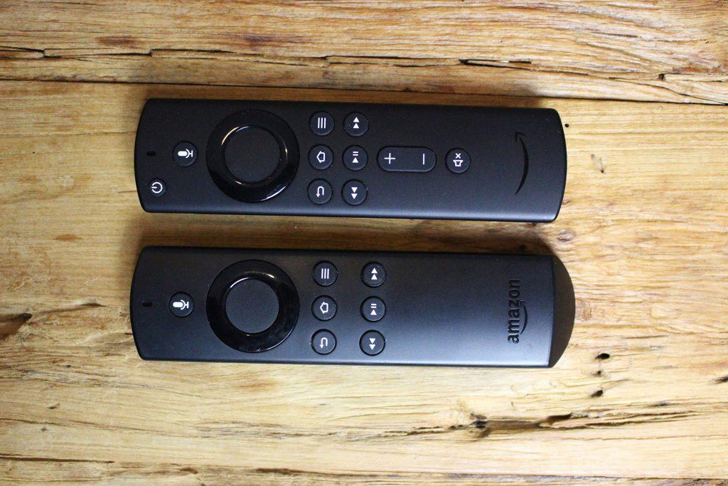 Vergleich Fire TV Sprachfernbedienungen