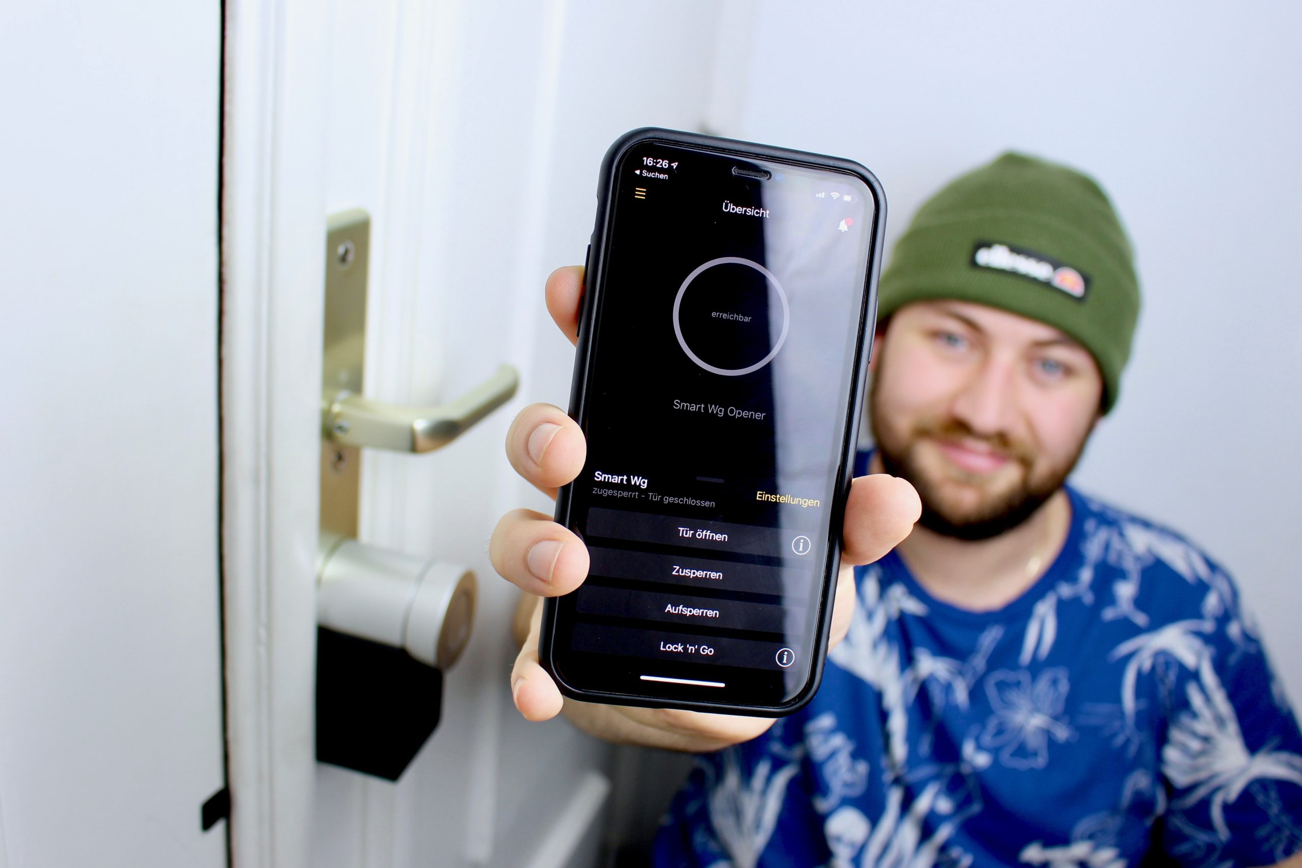 Jan mit Smart Lock