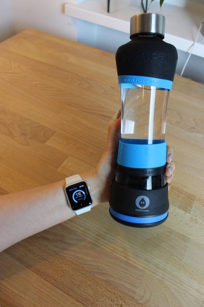 Apple Watch Smarte Trinkflasche - H2OPal