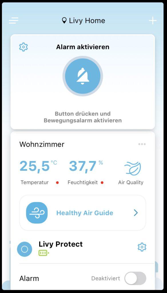 Livy Protect Air Monitor