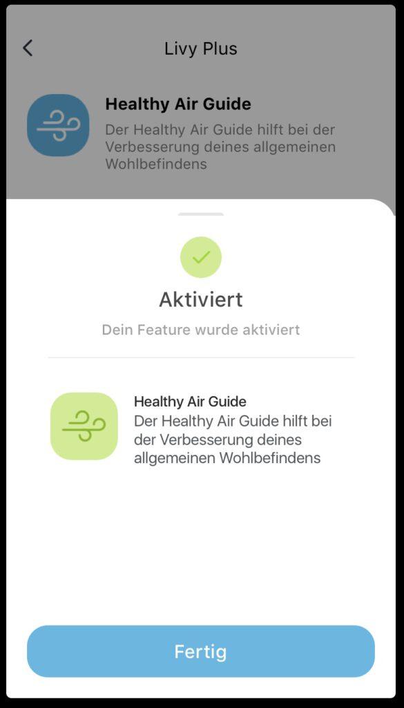 Livy Healthy Air Guide